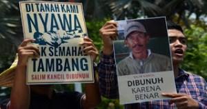 Sidang Kasus Pembunuhan Salim Kancil Gagal Bongkar Keterlibatan Mafia Tambang