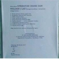 [Bekasi] Lowongan Kerja Operator Welder di PT Shuang Shi Indonesia