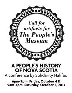 Peoples Museum single side handbill