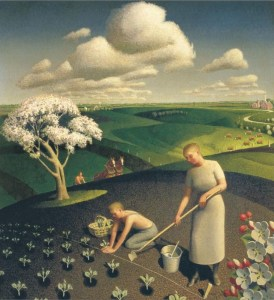 Grant Wood, Spring