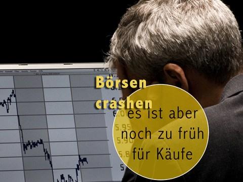 Börsen crashen