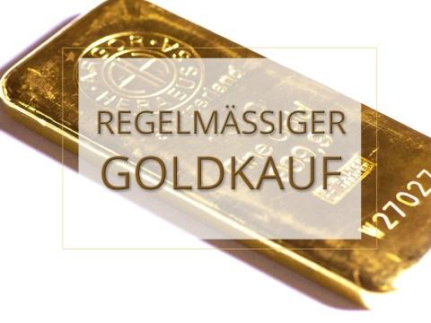 Regelmäßiger Goldkauf