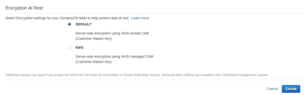 AWS DAX Overview and Sample Application using Encryption At