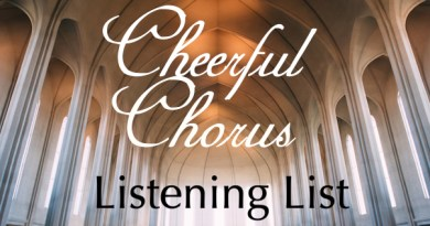 Featured Image for Cheerful Chorus Listening List 2016