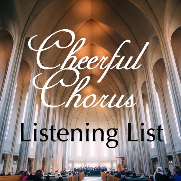 Image for Cheerful Chorus Listening List 2016