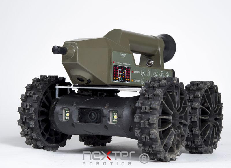 capteur robot nerva de Nexter