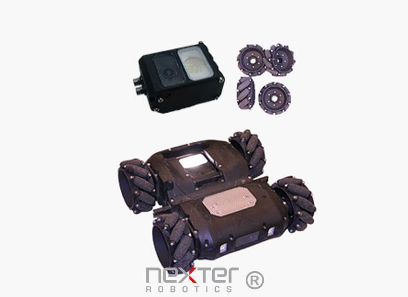robot inspection de véhicule securité civile