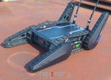 robot téléguidé léger et tout terrain