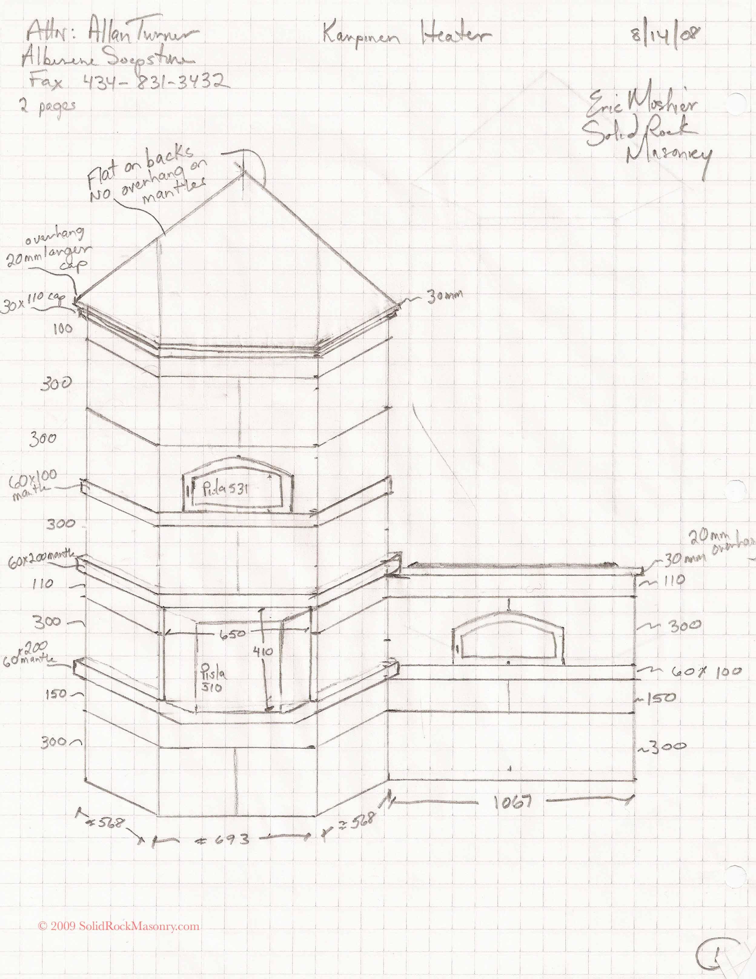 Karpinen Masonry Heater And Cookstove
