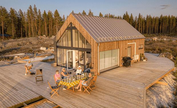 Buitenhuis in Zweden