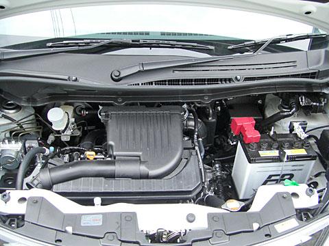 ソリオのエンジン