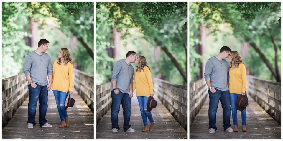 Romantic Fall Engagement session in Sioux Falls