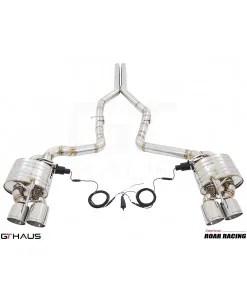 dodge challenger hellcat valved exhaust