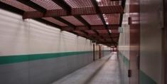 Corridor inside the SHU