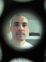 PBSP - JHL Reuben Martinez inside his cell in Pelican Bay SHU