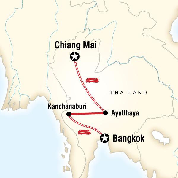 Nachttrein Bangkok-ChiangMai 12Go Asia