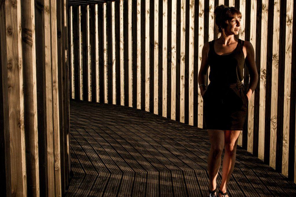 Strong women wear black, black outfit