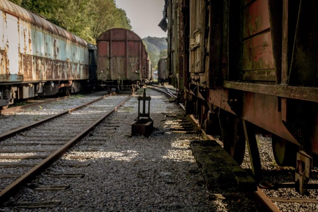 Oud treinstation Hombourg
