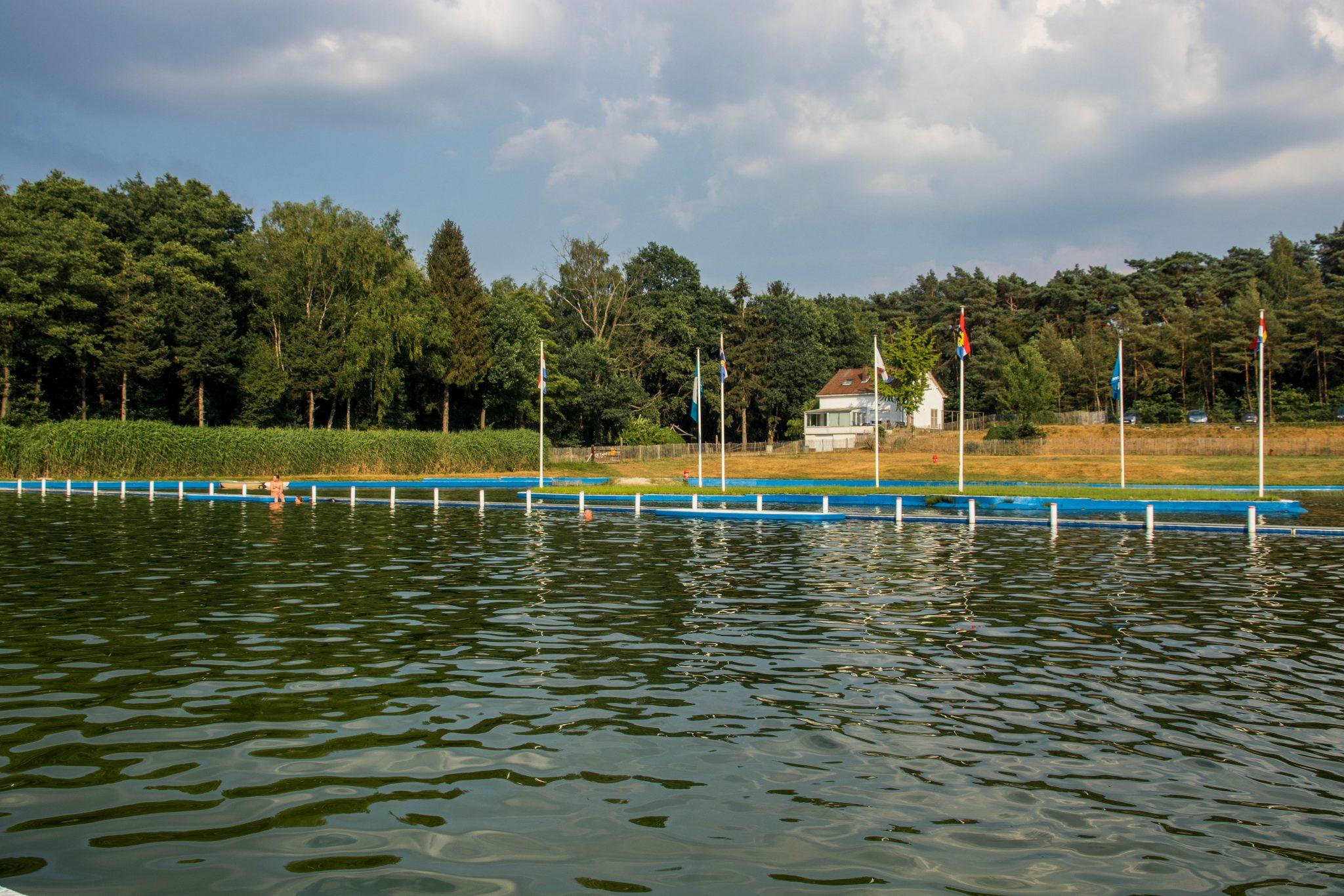 Wouterbron: afkoelen in de schoonste zwemvijver van Noord-Limburg