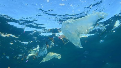 Floating plastics