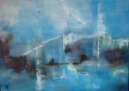 """""""Fliegende Brücken"""", 2012, 70 cm x 50 cm"""