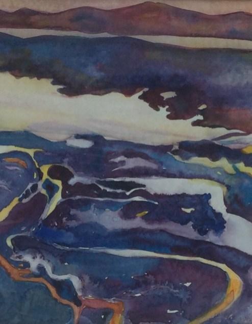Norwegen, 1991, Aquarell, 25 cm x 30 cm