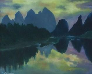 """Guilin"", 1993, 60 cm x 50 cm"