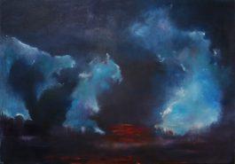 """Ruhe vor dem Sturm"", 2016, 100cm x 70 cm"