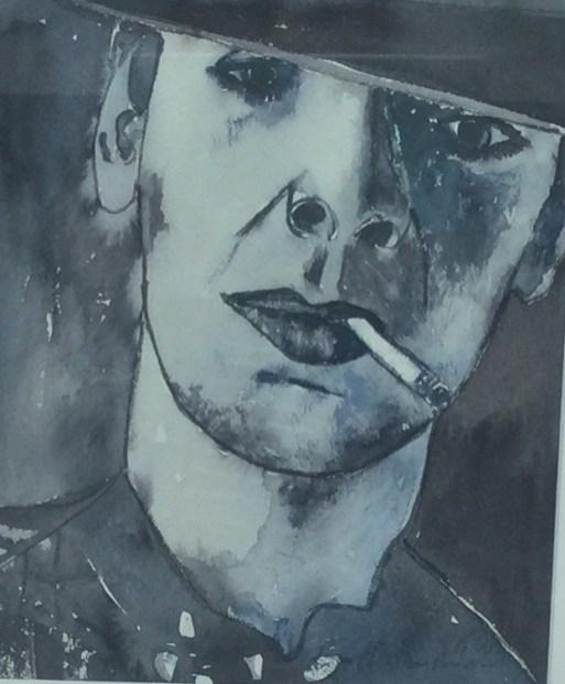 """""""Udo"""", 1978, Aquarell, 22 cm x 26 cm"""