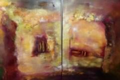 """""""Sie und Er, Er und Sie"""", 2 Teile, , 2015, 120 cm x 60 cm"""