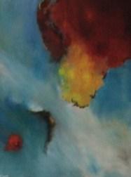 """Annäherung"", 2012, 70 cm x 80 cm"