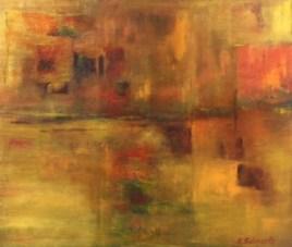 """Ruhe"", 2018, 70 cm x 60 cm"