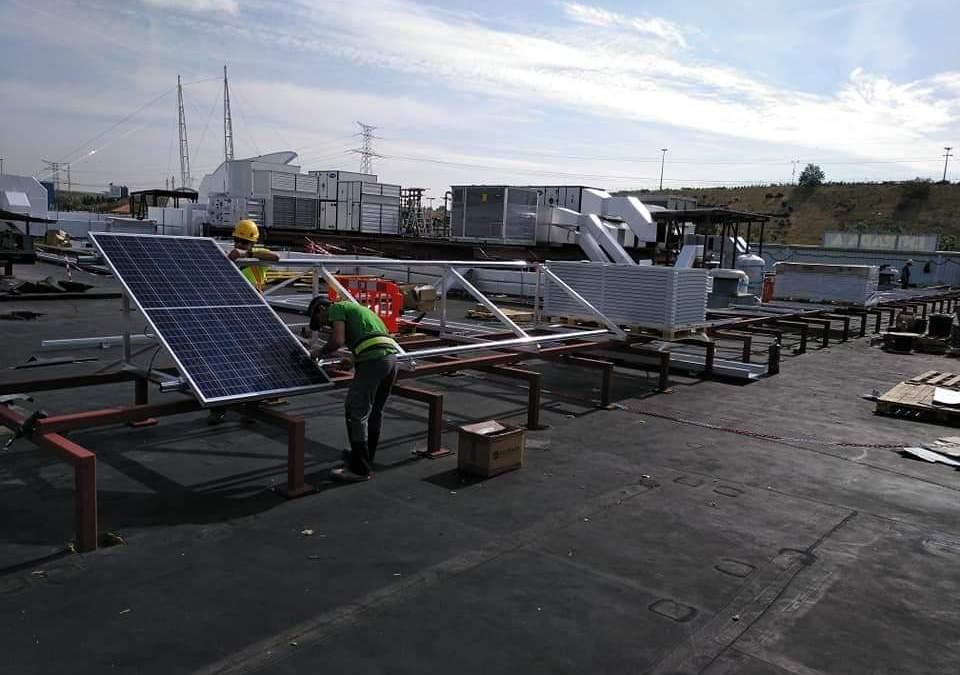 Instalación Fotovoltaica para Acuario Intu Xanadú