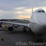 Good bye Delta's B747 Jumbo Jet