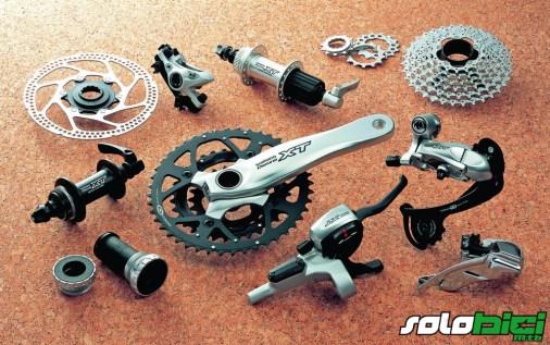 Grupo Shimano XT 2003