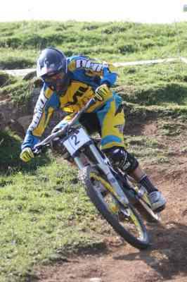 Toni Ferreiro es el actual campeón de España de DH.