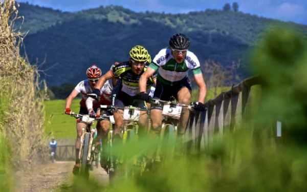 Una imagen de la carrera