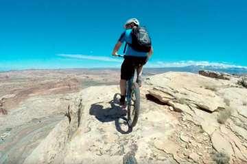 Nate Hills en Moab