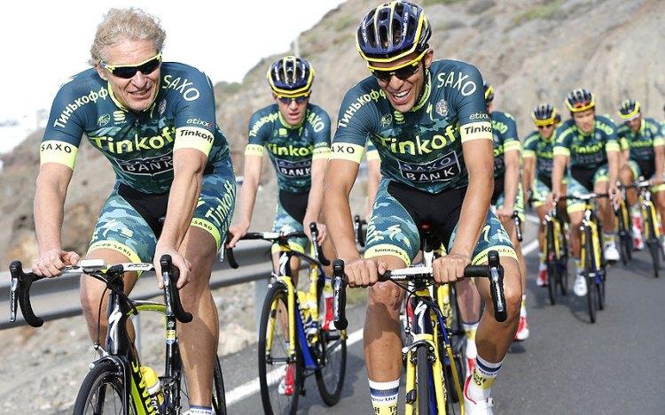 Oleg Tinkov Alberto Contador
