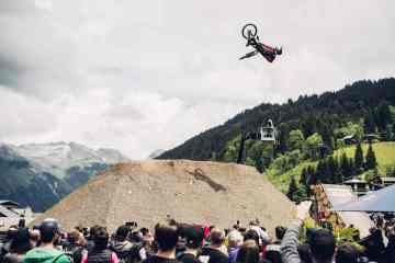 Slopestyle en Les Gets