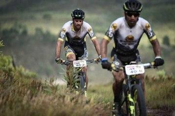 Ismael Ventura y Enrique Morcillo en la Cape Epic