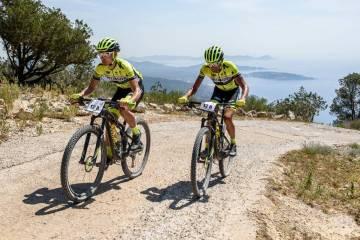Una imagen de la Vuelta a Ibiza