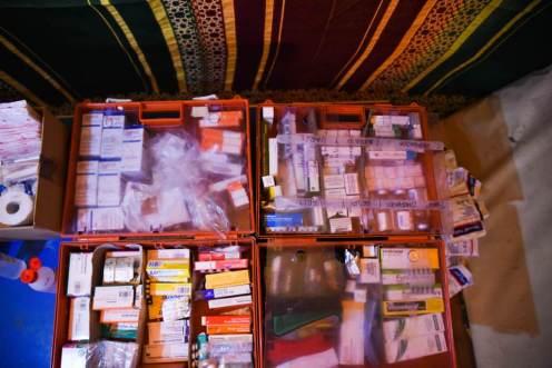 Los medicamentos se clasifican y distribuyen cuidadosamente