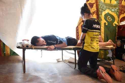 Los participantes cuentan con atención médica las 24 horas del día