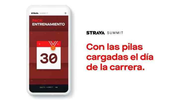 Strava Summit Pack Entrenamiento