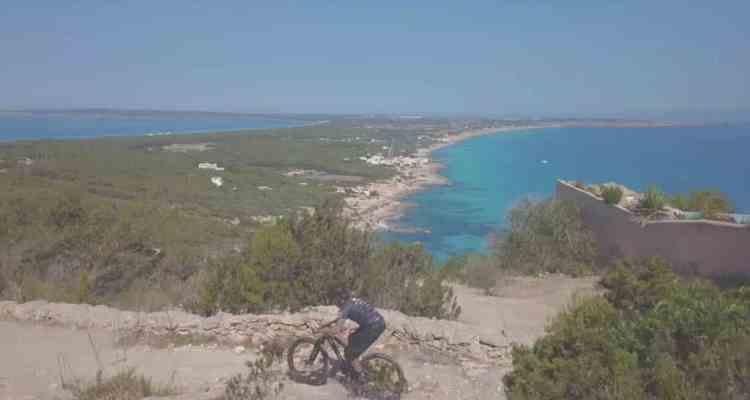 David Cachon en Formentera