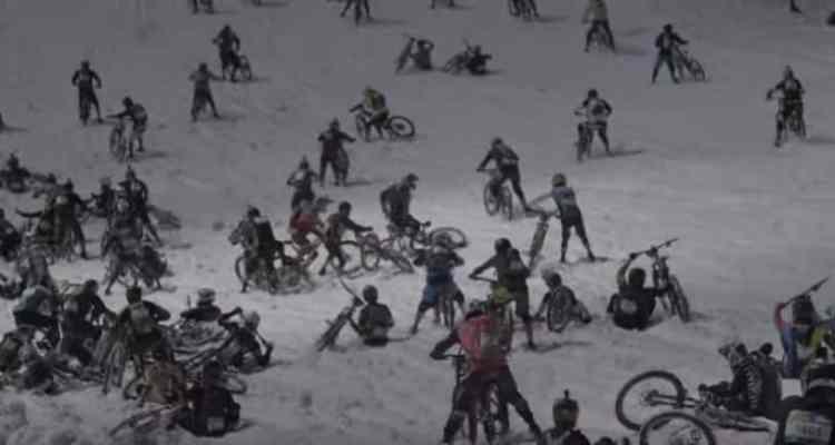 Megavalanche Alpe d'Huez 2018