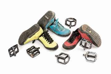 Informe de zapatillas y pedales