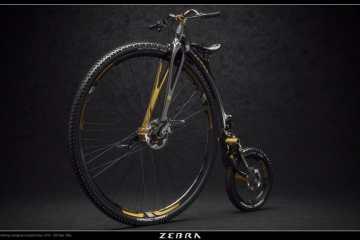mountain bike de rueda alta