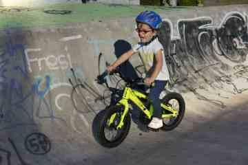 gama de bicicletas para niños de BH